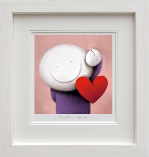 Everything For You by Doug Hyde - Framed Limited Edition on Paper